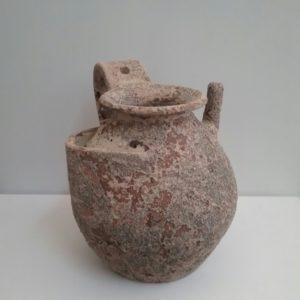 Vaso Antichizzato Medio Decoro Marino